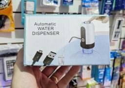 Bomba de água elétrica e recarregável