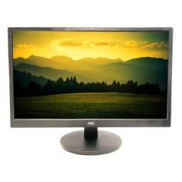 "Monitor Gamer AOC 23,6"" - 75Hz - Full HD - NOVO - Loja Física"