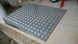 Rampa alumínio e Metalon