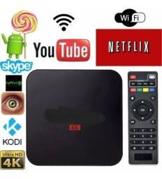 Título do anúncio: TV Box transforma sua TV em smart
