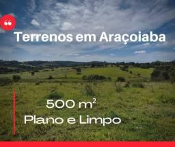 Lote/Terreno para venda tem 500 metros quadrados em Cercado - Araçoiaba da Serra - SP