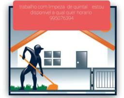 Título do anúncio:  Trabalho com limpeza. Terreno