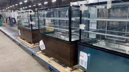 G - vitrine para padaria  luxo barato