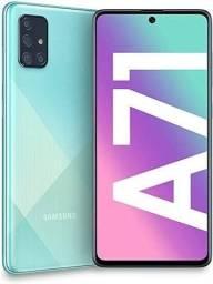 Título do anúncio: Samsung a71 128GB sem marcas de uso