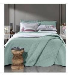 Título do anúncio: Colcha de cama king 3 peças Várias cores