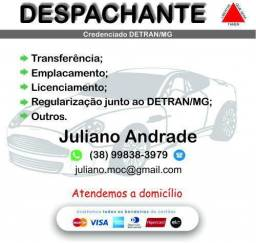Título do anúncio: Despachante credenciado Detran MG