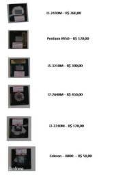 Processadores para notebook na descrição