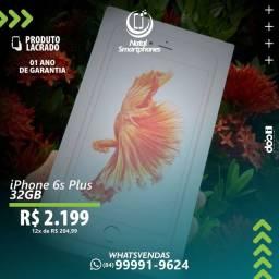 IPHONE 6S PLUS LACRADO CORES: OURO ROSE  PRETO PRATA ( 1 ANO ) GARANTIA