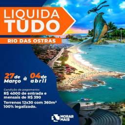 "I N D E C E N T E ??? ! Terreno, ""Rio das Ostras"", RGI, 360m²."