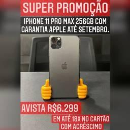 iPhone 11 Pro max 256gb com garantia Apple. SUPER PROMOÇÃO