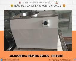 Amasseira Rápida 25KGS para padaria - Gpaniz | Matheus