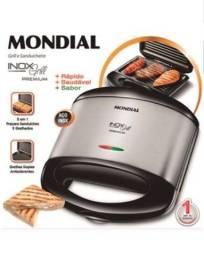 Título do anúncio: Grill e Sanduicheira Mondial
