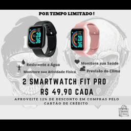 Smartwatch Fit Pro preço abaixo do mercado