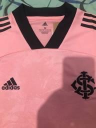 Camisa e babylook rosa do inter no tamanho P, M, G, GG A pronta entrega