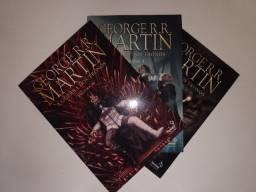 A Guerra dos Tronos Volume 1 ao 3