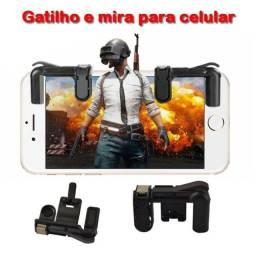 Par Gatilhos Gamepad Botão L1-r1  para Celular