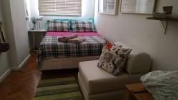 Apartamento mobiliado c quarto e sala, cozinha americana -  Flamengo