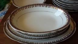 Aparelho de jantar porcelana real