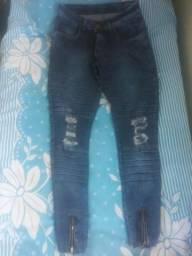 Calças jeans Destroyed