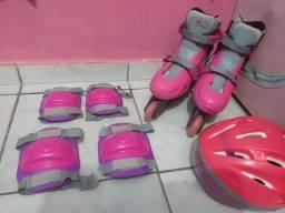 Vendo patins completo