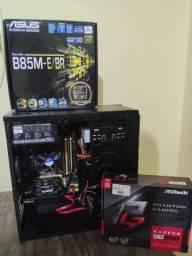 PC Gamer i5 (4460) +8GB DDR3 + RX 560