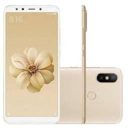 Xiaomi mi a2 dourado 128gb 6gb ram