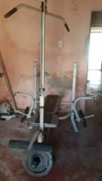 Equipamento musculação completo