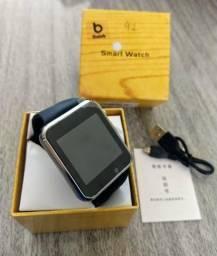 Relógio Inteligente SmartWatch A1 Android Iphone Pega Chip Câmera Frontal