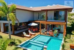 Casa em condomínio para venda em mata de são joão, praia do forte, 7 dormitórios, 7 suítes