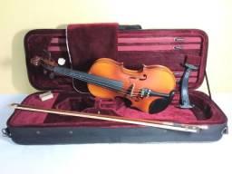 Violino 4/4 Michael Vnm49 C/ Estojo Profissional (usado)