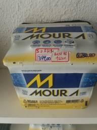 Baterias Moura 50 amperes base de troca Entrega grátis curitiba e região