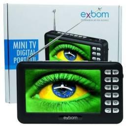 Mini Tv Digital Portátil HD