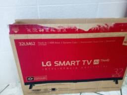 Tv smart de led 32 nova com tela trincada