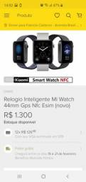 Xiaomi mi watch (concorrente direito apple watch)