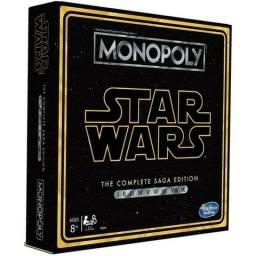 Jogo tabuleiro Monopoly Star Wars Complete Saga Edition