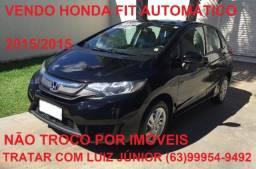 Vendo Honda Fit Automático 2015/2015 - Ipva Pago - 04 pneus Novos - Estado de Zero