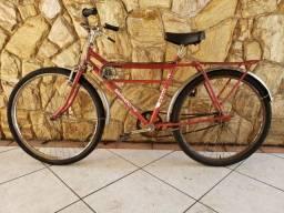 Antiga Bicicleta Caloi Barra Forte
