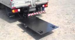 Bau carga seca + plataformas rampa elevatória  Hyundai hr e kia bongo