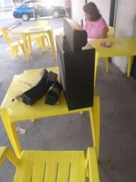 caixa do home theater Philco