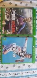 PES e FIFA19 XBOX ONE