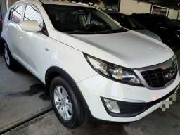 R$990,00 por mês / Sportage 2.0 LX flex aut 2011 branca