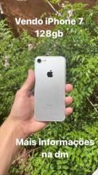 iPhone 7 -128gb  Prata