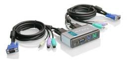 Switch 2 Pcs Em 1 Kvm D-link Kvm-121