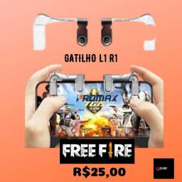 Gatilho L1 R1 para celular