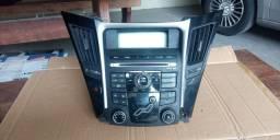 Som rádio painel moldura ar-condicionado Hyundai sonata.