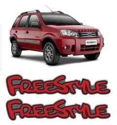 Emblema / Adesivo Freestile EcoSport