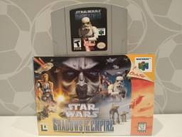 Jogo Original - Star Wars: Shadows of the Empire - Nintendo 64 - N64