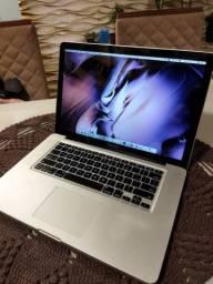 Macbook pro core i7 8 gigas 480 ssd placa de vídeo dedicada AMD $3590,00