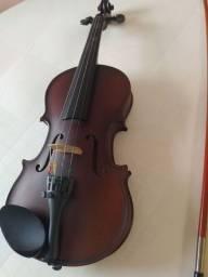 Violino Infantil Pearl River 1/4 com Caixa Térmica