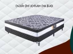Título do anúncio: Colchobox Casal Black // ZAP *